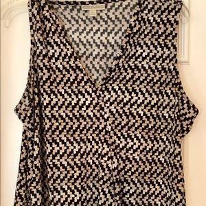 """Dana Bachman XL """"wrap"""" blouse."""